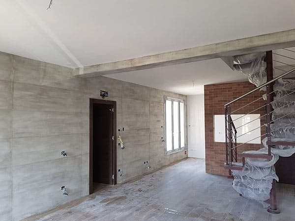 Pittura Effetto Cemento Grezzo : Pitturare casa modena carpi u tinteggiare parete effetto cemento